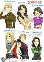 Avengers Genderbend by christasyd