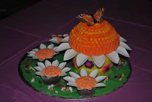Spring Birthday Cake by lenslady