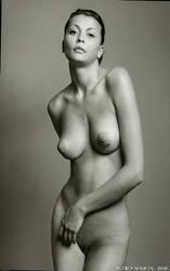 Katia nude portrate by seredin