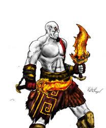 Kratos by Negath