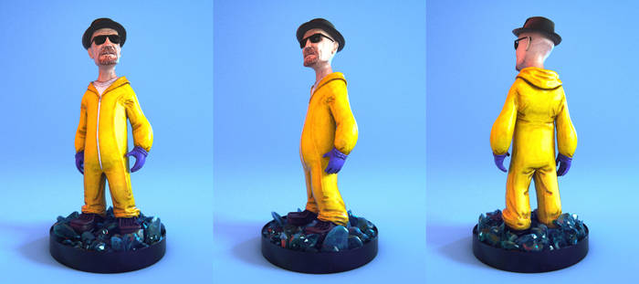Breaking Bad Figurine - Product Render by FabianDAbundo