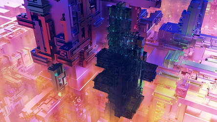 MicroChipCity by JanD