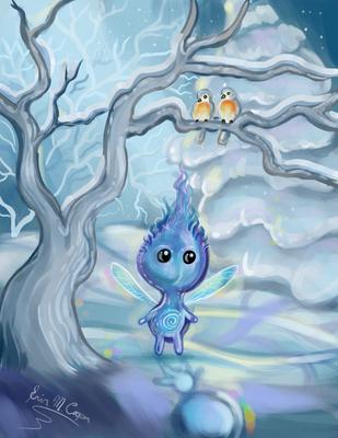 Winter Magic speedpaint by Shadowind