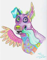 Inktober #4 Fan art of Dante- from Pixar's CoCo by Shadowind