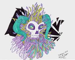 Inktober Demon Feathers by Shadowind