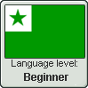 Esperanto Language Level Stamp by the-sock-ninja
