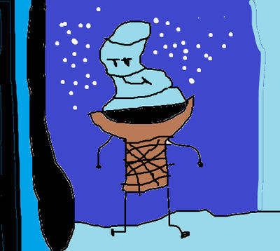 Ice Cream Emoji In The Box Melting In Here By Luffyfan23 On Deviantart