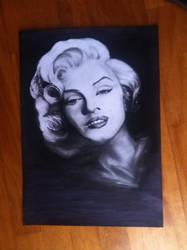 Sketch - Marilyn Monroe by Szeni1993