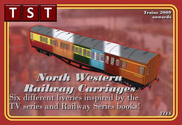North Western Carriages RELEASED SORT OF by thejonateers