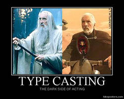 Christopher Lee Demotivational Poster by Unownace