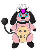 Miltank Anthroid (For Masterge77) by Unownace