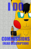 I Draw Commissions (PayPal and Patreon) by Unownace