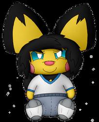 Mini Ace the Pichu by Unownace
