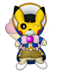 Bree Havarti the Pikachu by Unownace