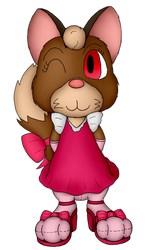 Ruby Gray the Ferren by Unownace