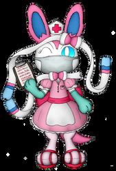 Nurse Silvia's Medical Report by Unownace
