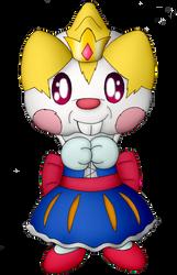Princess Peanut the Pachirisu by Unownace