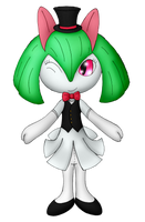 Magician's Assistant Kirlia by Unownace