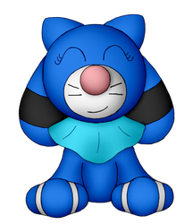 Bubble the Popplio (Updated Design) by Unownace