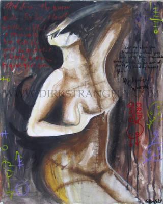 DIRK STRANGELY  Agonized Woman by dirkstrangely