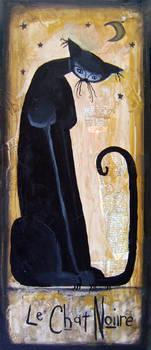 Le Chat Noire by dirkstrangely