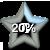 Star Progress Bar II - 20% by ColMea