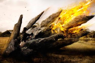Earthbeder VS Firebender by RacoonFactory