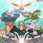 Commission: Pokemon - New Adventures by BroDogz