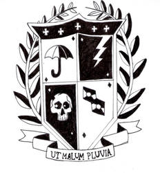 The Umbrella Academy emblem by RikuShadow