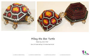 Mikey The Box Turtle by JustBelieveCreations