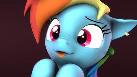 Cute Dash by FlushTheBatSanta