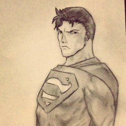Superman by JumpyJen