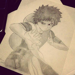 Gaara by JumpyJen