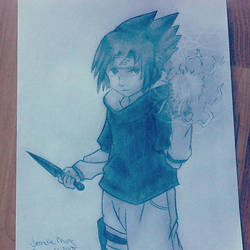 Sasuke by JumpyJen