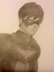 NightWing by JumpyJen