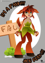 Elora - The Faun by EdoNovaIllustrator