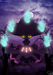 Mismagius - The Wicked Witch by EdoNovaIllustrator