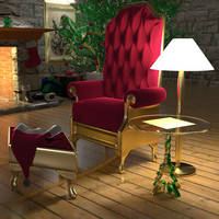 Santa's Chair by Entangled-Minds