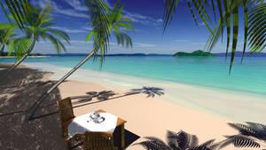 Blender's Beach by Entangled-Minds