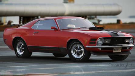 Mustang Mach 1 by tomisaksen