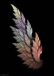 Earthtone Angel Wing by Shadoweddancer