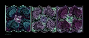 Splits-ngon Triptych by Shadoweddancer