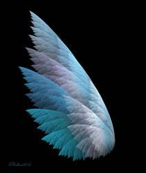 Blue Fairy Wing by Shadoweddancer