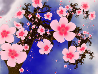 Cherry Blossom Breeze by Shadoweddancer