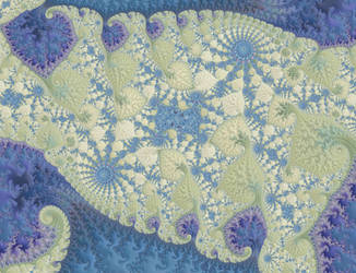 Blue and White Quilt by Shadoweddancer