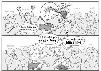 Tentaclehead - page 3 - Much Hero by KROKDK