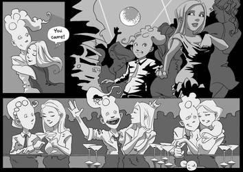 Tentaclehead - page 4 - Liquid Courage by KROKDK