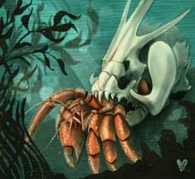 Skully Crab by nikkidreamer