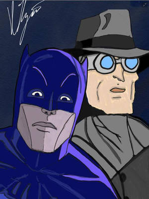 Tribute to Adam West by HaloArt117