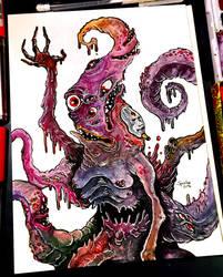 17/12/2018 - Nyarlathotep, the Crawling Chaos by hubertspala